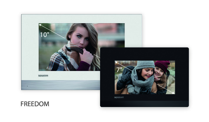 Монитор видеодомофонов FREEDOM HD